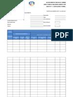 Formatos Para Realizar Reportes 2017