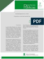 Policy Paper no. 7 Encrucijadas de la Paz Perspectivas a un año del Acuerdo Final