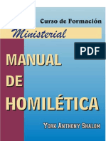 Manual de Homiletica