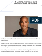 5 Lições Do SEAL Da Marinha Americana, David Goggins, Sobre O Incrível Poder Do Desconforto