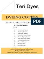 Dyeing Guide Cotton