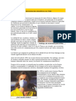 Contaminación Atmosférica en Chile