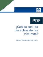 Cuáles son los derechos de las víctimas