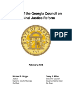 2017-2018 Report of the GA Council on Criminal Justice Reform