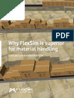 FlexSim Material Handling White Paper