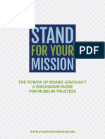 Stand for you mission