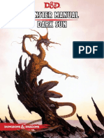 Monster Manual - Dark Sun 5th Edition