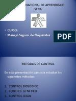 4.1 Metodos de Control
