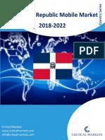 Dominican Republic Mobile Market 2018-2022_Critical Markets