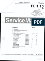 Philips Chassis FL1-10 AA - Service Manual