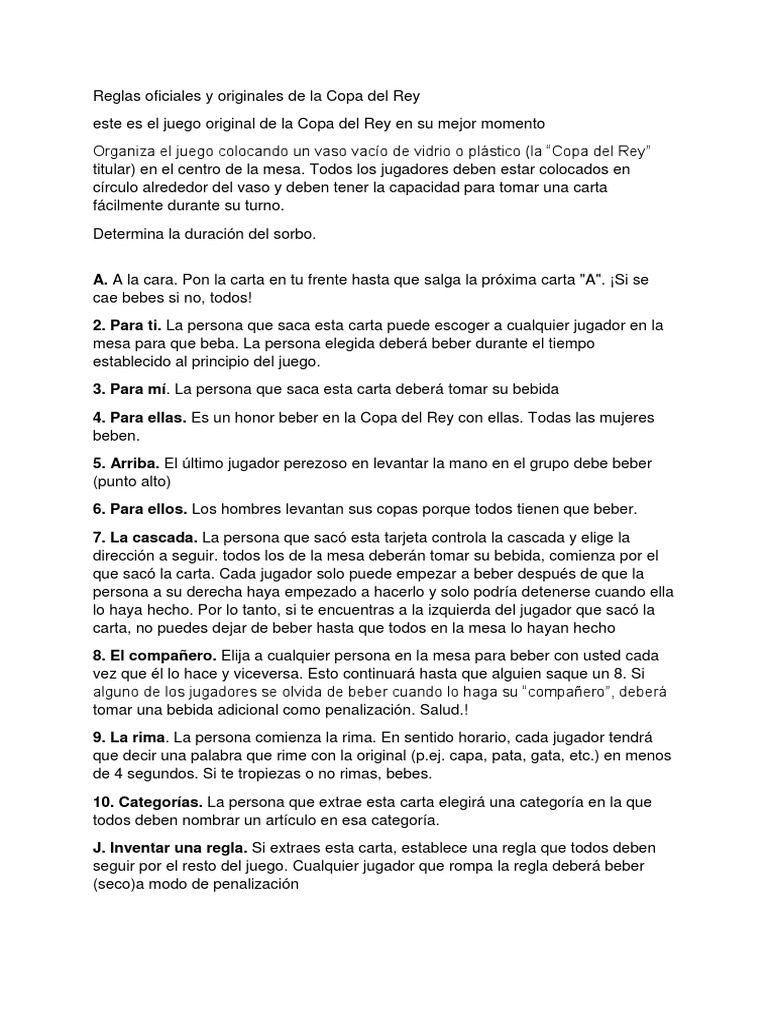 Copa Del Rey Ocio Deportes