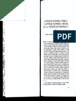 """ROJO, Angel, """"Actividad económica pública y actividad económica privada en la constitución"""", en Revista de Derecho Mercantil, 1983, pags. 309-341."""
