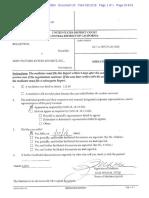 Feld v Sony Mediation Report