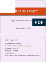 Taller de Ms- Project2