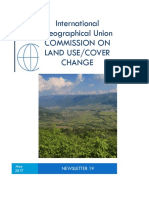 International Geographical Union COMMISSION on LAND USE 19 2