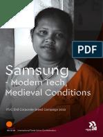 CSI Sobre Samsung (Inglés)