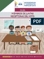 Guía para Miembros de las Juntas Receptoras del Voto