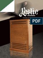 Leslie Speakers Book