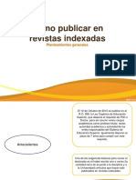 Como Publicar en Revistas Indexadas