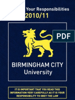 BCU Immigration Booklet