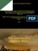 Fotos Nocturnas de La CD de México