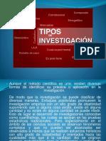 TESIS y Tipos de Investigacion