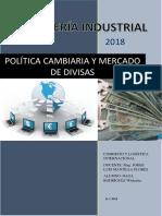 Politica Cambiaria y Mercado de Divisas