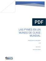 Las Pymes en Un Mundo de Clase Mundial