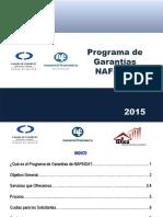 Programa de Garantías NAFINSA (CANACO)