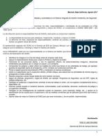 Carta y Listas Roles y Responsabilidades