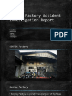 KENTEX Factory Accident Investigation Report