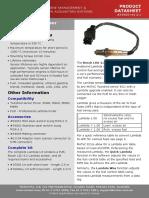 CDS57005 Bosch LSU 4.2 Sensor