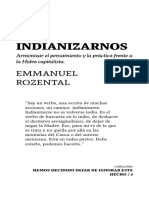Emannuel Rozental - indianizarnos
