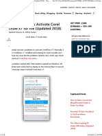 How To Crack Activate Corel Draw X7 For Life Nairatips