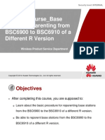 03-Base Station Reparenting from BSC6900 to BSC6910 of a Different R Version.ppt