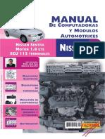 11 Nissan Sentra Motor 1.8 Ecu Prueba
