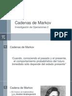 Cadenas de Markov Io2