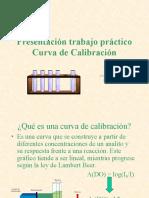 Presentacion Trabajo Practico Curva de Calibracion