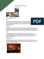 Desastres Naturales Más Comunes