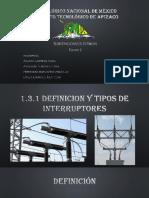 1.3.1 Definicion y Tipos de Interruptores