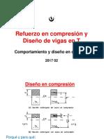 S03 2017 02 Diseño en compresión y vigas T.pdf