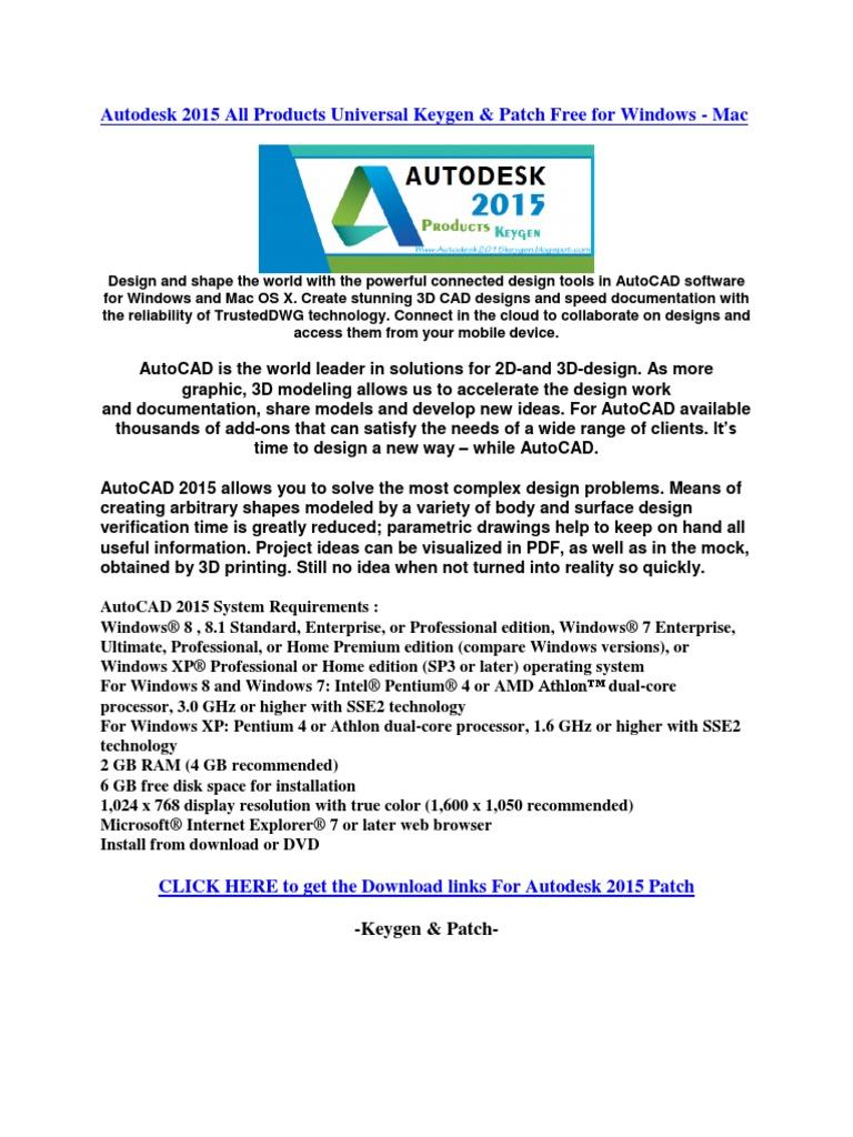 download patch keygen autocad 2013