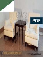Sofa Putih Teras Set