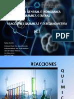 Reacciones Quimicas y Estequiometria