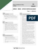 Fgv 2015 Tj Pi Analista Judiciario Auditor Prova