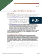 Managing Cisco UCS C-Series Rack Servers White Paper