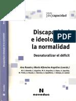 Discapacidad e Ideologia de La Normalida