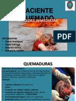 PACIENTE QUEMADO