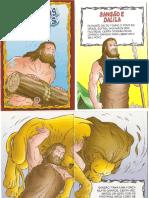 Histórias Bíblicas - Sansão e Dalila.doc