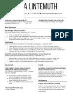 lintemuth lina -resume